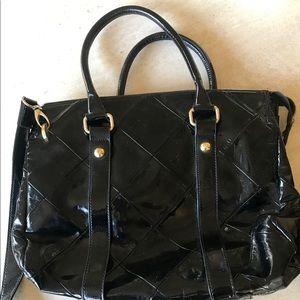 Patent Leather Armani Bag